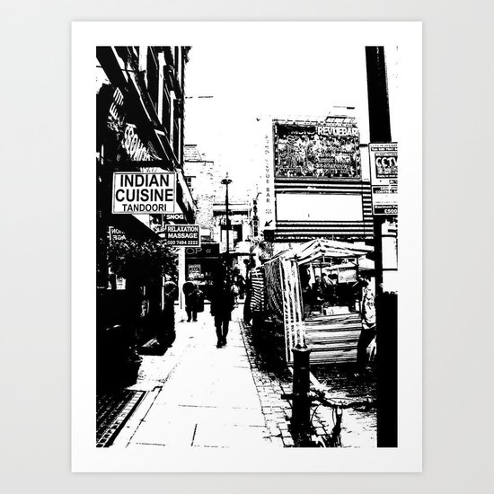 SOHO LIFE Art Print
