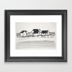 Les Galets de Natashquan Framed Art Print