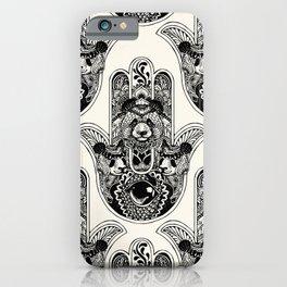 Hamsa Hand Panda iPhone Case