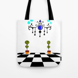 A Chandler and Topararies without mirrors Tote Bag