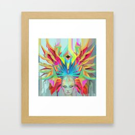 EYE Framed Art Print
