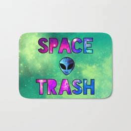 Space Trash Bath Mat