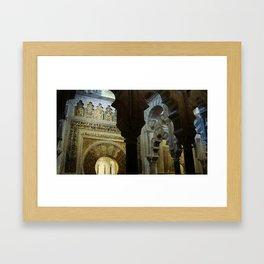 Vaults Framed Art Print