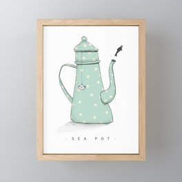 Sea-POT Framed Mini Art Print