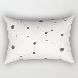 Hexagon grid Rectangular Pillow