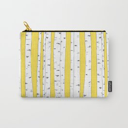 Aspen Forest - Yellow Carry-All Pouch