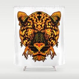 JaguarCat Shower Curtain