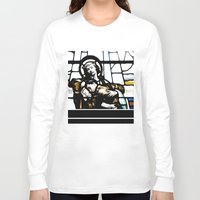 christ Long Sleeve T-shirts featuring Jesus Christ by miss|melissa