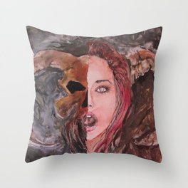Lucifera Throw Pillow