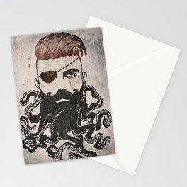 Black Beard Stationery Cards