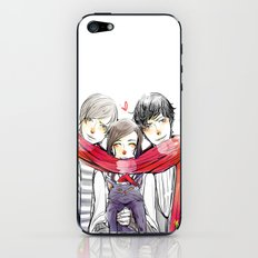 Jem, Tessa and Will iPhone & iPod Skin