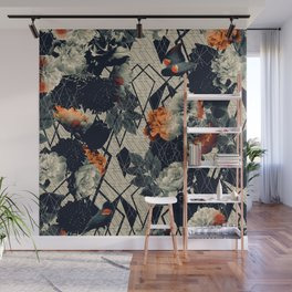 Floral GEO v.2 Wall Mural