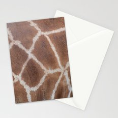 Giraffe pattern Stationery Cards