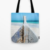 andreas preis Tote Bags featuring CONTRAST by Catspaws