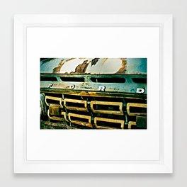 Call It A Pick Up Truck Framed Art Print