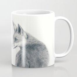 Red fox in graphite Coffee Mug