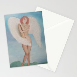 Redhead Angel Stationery Cards
