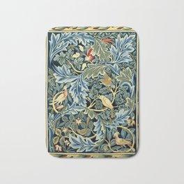"""William Morris """"Birds and Acanthus"""" Bath Mat"""