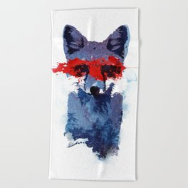 The last superhero Beach Towel