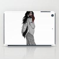 princess mononoke iPad Cases featuring princess mononoke by Nioko