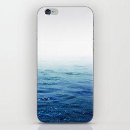 Calm Blue Ocean iPhone Skin