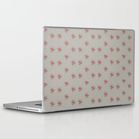 sneakers Laptop & iPad Skins featuring red sneakers by ivaDima