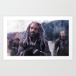 King Ezekiel Of The Kingdom - The Walking Dead Art Print