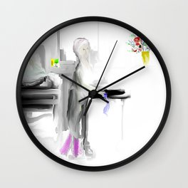 Nurses...Our Everyday Angels Wall Clock