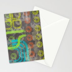 Op Ning A Nu Rave Keyboardist Stationery Cards