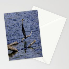 Chicago Coromorant (Chicago North Pond Collection) Stationery Cards