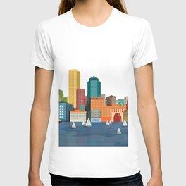 City Boston T-shirt