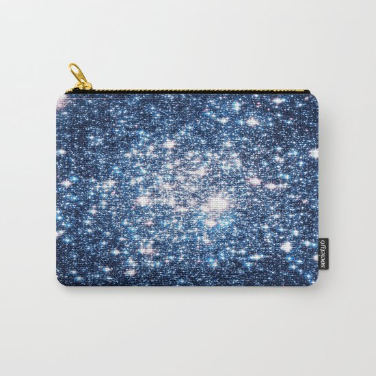 Galaxy Stars: Riverside Blue Carry-All Pouch