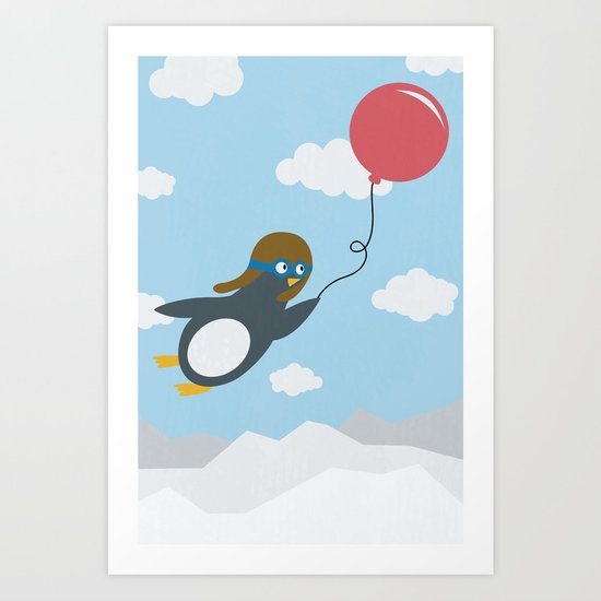 Take Flight! Art Print