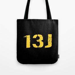 13J Fire Control Specialist Tote Bag