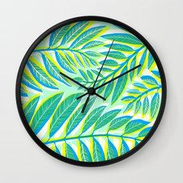 Tropical Rainforest Wall Clock
