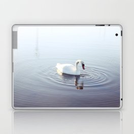 the beautiful swan Laptop & iPad Skin