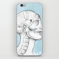 grid iPhone & iPod Skins featuring Grid by isberg illustration