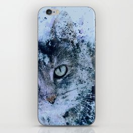 Miss Kitty Unleashed! iPhone Skin