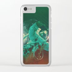 Project Apollo - 1 Clear iPhone Case