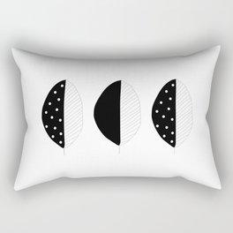 abstract leaf pattern Rectangular Pillow