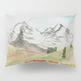 A Highland Village Pillow Sham