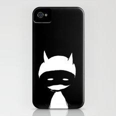minima - devil mask iPhone (4, 4s) Slim Case