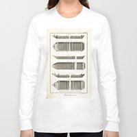 boats Long Sleeve T-shirts featuring Boats by Le petit Archiviste