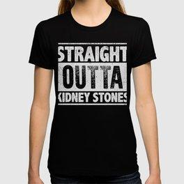 Straight Outta Kidney Stone Survivor T-Shirt T-shirt