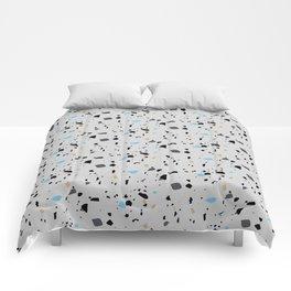 Terrazzo Surface Pattern Comforters