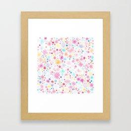 big bloom Framed Art Print