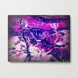 Savage Grandeur-purple Metal Print
