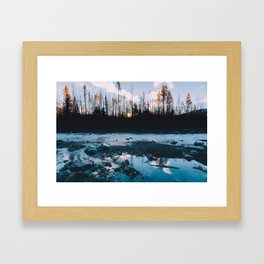 Rising Sun - Kenai Fjords National Park Framed Art Print