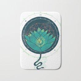 Blue Lotus Bath Mat