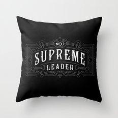Supreme Leader Throw Pillow